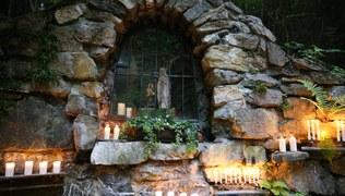 Vorschaubild Marien Grotte Jupident Bittmontag 2019