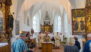 Vorschaubild Schlins: Wiedereröffnung St. Anna Kapelle 2019