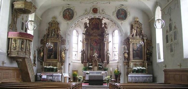 Schoppernau - Hll. Apostel Philipp und Jakob (copyright: K. Palfrader)