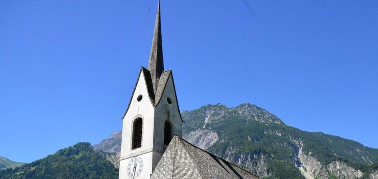 St. Anton i. M. - Hl. Antonius (copyright: Kath. Kirche Vorarlberg / Blum)