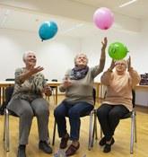 3er Gruppe Frastanz mit Ballons