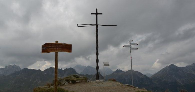 Carl Lampert Gipfelkreuz