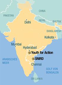 indien landkarte