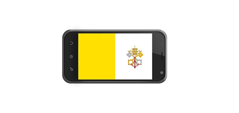 Papst SMS