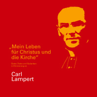 Broschuere Carl Lampert Cover