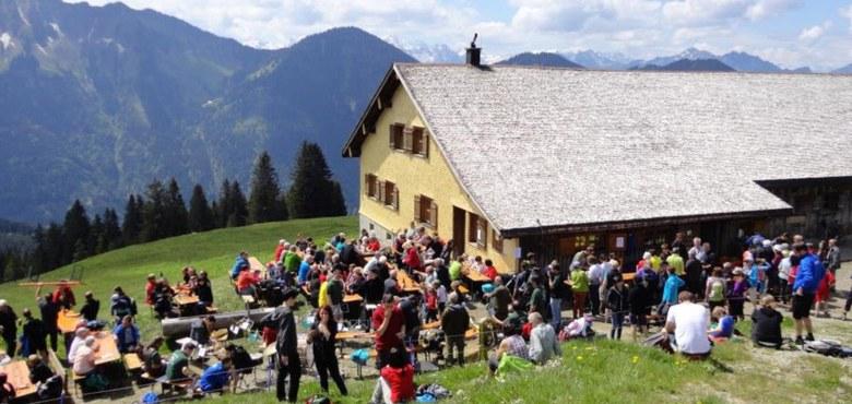 Bergmesse Alpe Tschuggen