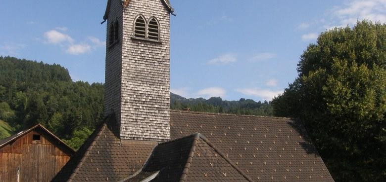 Mariahilf Kapelle in Unterbatschuns