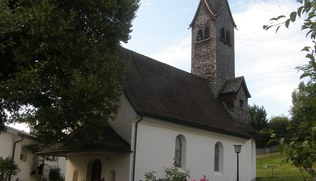 Vorschaubild Mariahilf Kapelle in Unterbatschuns