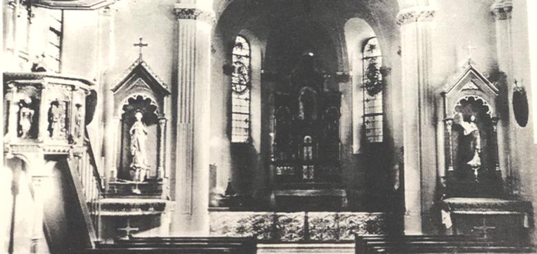 Die Geschichte der Pfarrkirche St. Josef
