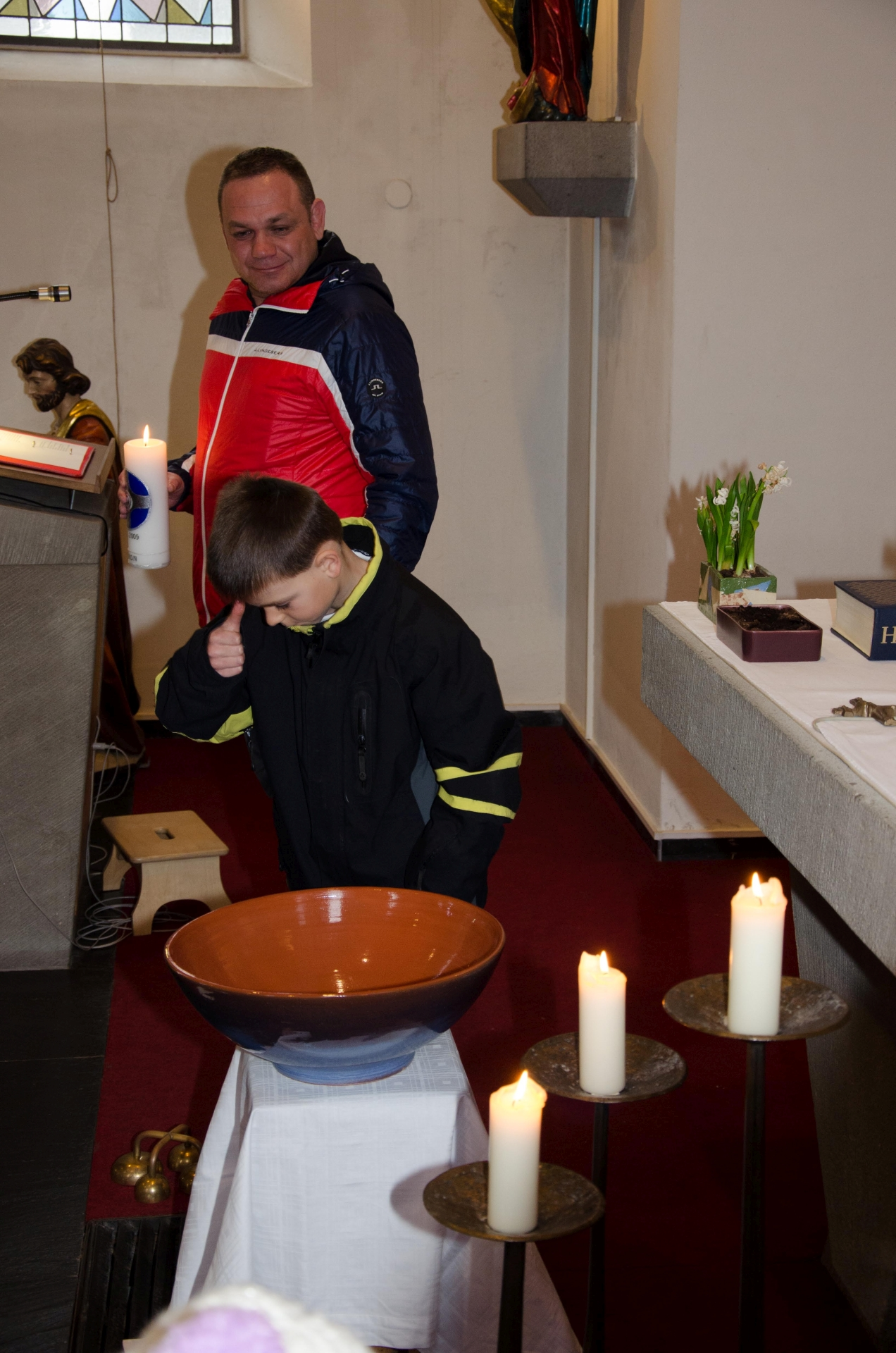 Tauferneuerung Erstkommunion