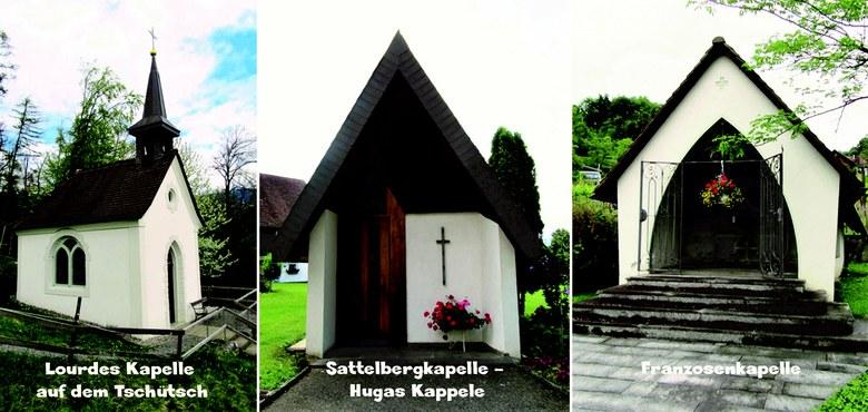 Kapellen in Klaus