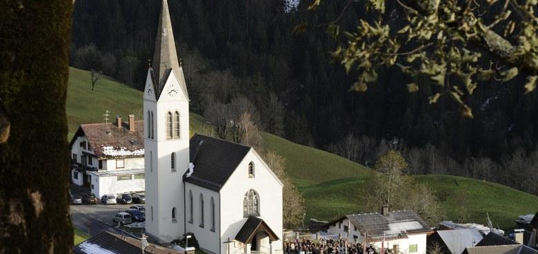 "Pfarrkirche Innerlaterns ""Expositur Maria Hilf"""