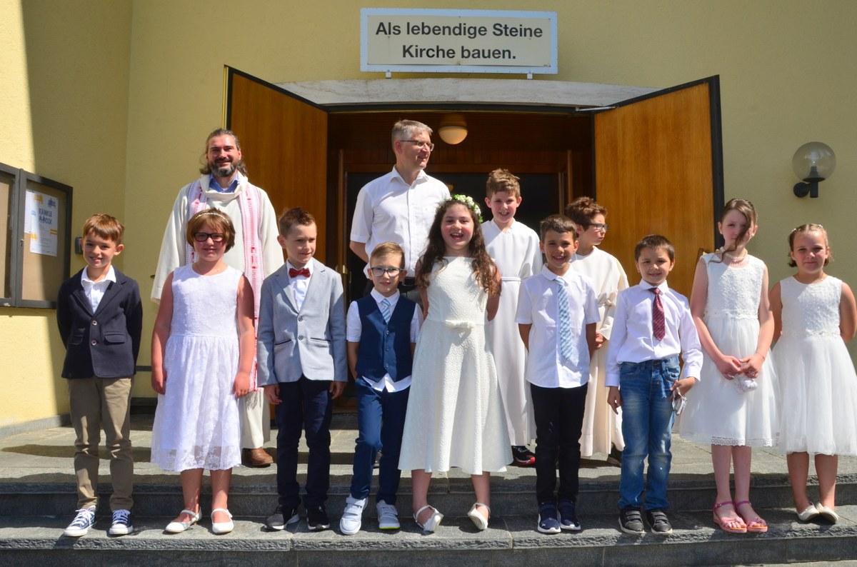 Erstkommunion 9 — Katholische Kirche im Vorderland