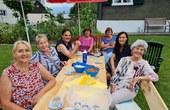 Bänklehock bei Familie Mayerhofer, Obere Gasse