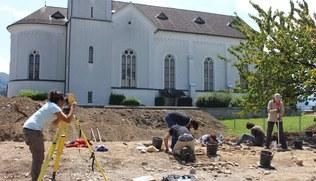 Vorschaubild Alter Friedhof: Gebeine wurden wiederbestattet - 21. April 2021