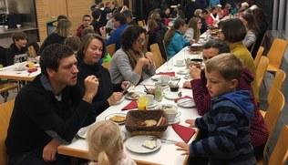 Vorschaubild Rorate-Frühstück am 10. 12. 2019