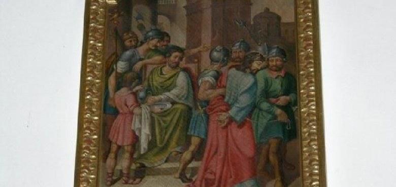 "Bilderserie ""Kreuzweg Jesu"" der Kirche St. Martin"
