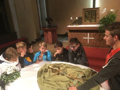 Ministranten in der Pfarre Heilig Kreuz werden wieder gesammelt