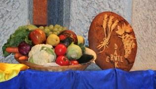 Vorschaubild Familiengottesdienst zum Erntedank in der Pfarre Heilig Kreuz