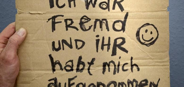Buchtipp - Anselm Grün: Ich war fremd...