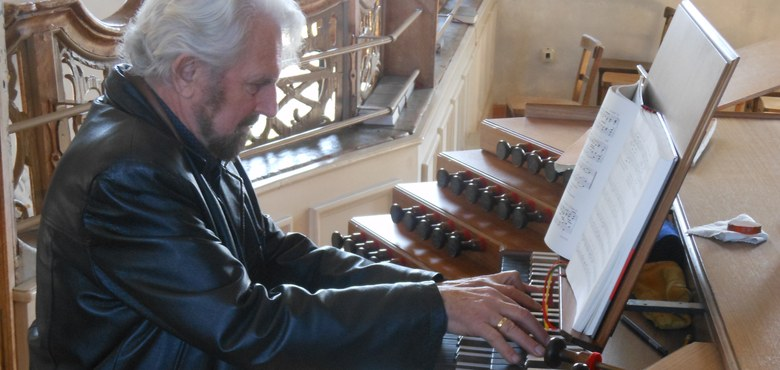 Elgar Odo Polzer - 65 Jahre Organist in St. Gallus