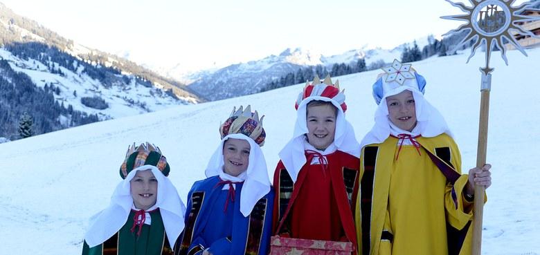 Sternsingerrap und Vorarlberger Sternsingerlied