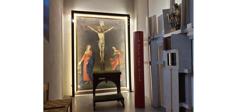 Raum der Barmherzigkeit in St. Peter und Paul