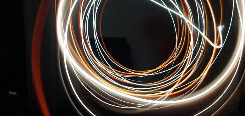 Kleine Lichtobjekte - handgeschöpft