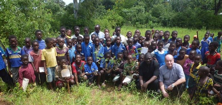 Drei Euro für zehn Bäume in Malawi