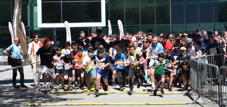 Laufen für die Lerncafés: LaufWunder der Caritas erfolgreich