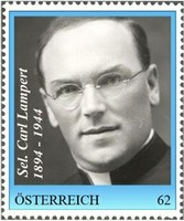 Briefmarke Carl Lampert