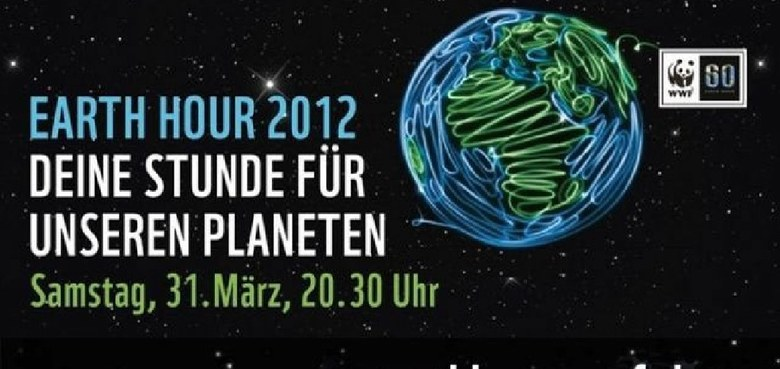 Earth Hour 2012: Wir machen mit!