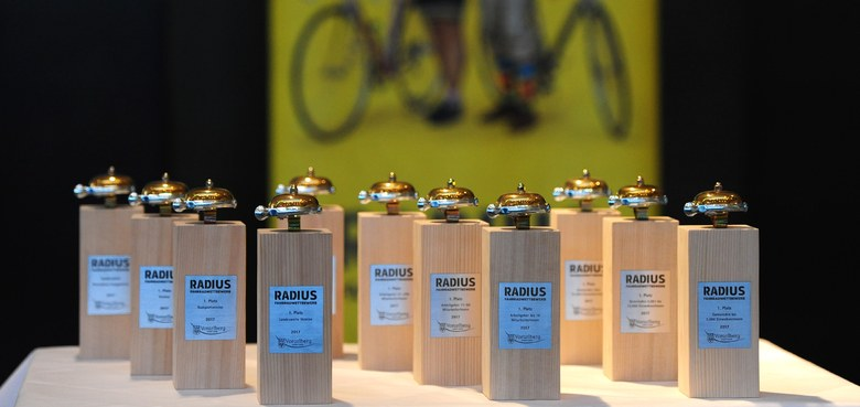 Und die goldene Fahrradklingel geht an...