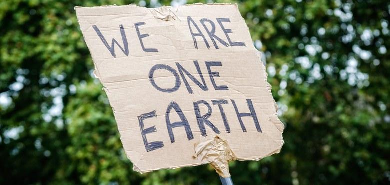 Was macht ein Friedenspfahl auf der Klimakonferenz?
