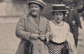 Photo: Ahnfrauen des Weltfrauentags Clara Zetkin und Rosa Luxemburg 1910. wiki.commons