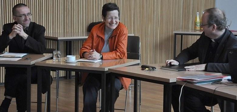 Landesrätin Greti Schmid im Diözesanhaus