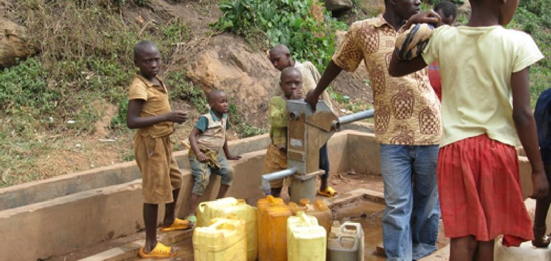 Wassernot in Afrika