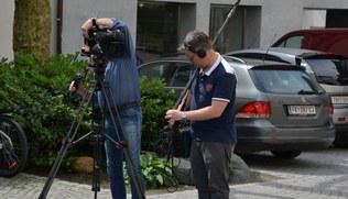 Vorschaubild Dreh für TV-Gottesdienst mit Firmlingen der Dompfarre in Feldkirch