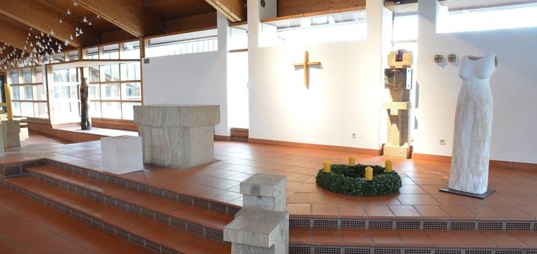 Kunst von Frauen in der Kirche