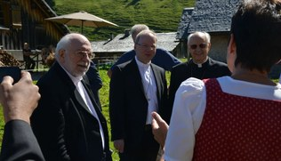 Vorschaubild Lorenzo Kardinal Baldisseri in Vorarlberg