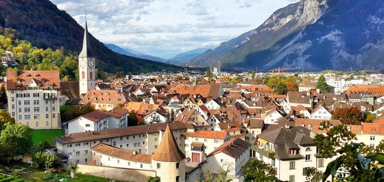 Chur - Kloster Ilanz mit Pfr. Rudi Siegl