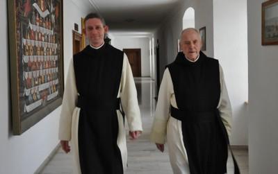Abt Kassian und Abt Anselm