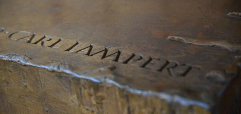 Es macht etwas mit einem Dorf – Carl Lampert und Göfis