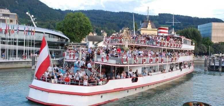Wallfahrt übers Wasser – 4000 Pilger/innen bei der Schiffswallfahrt am Bodensee