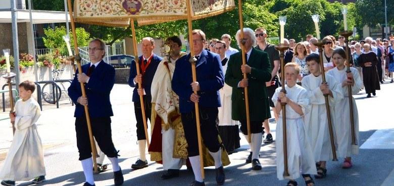 Fronleichnam 2017 - Gottesdienste in Vorarlberg