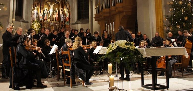 Weihnachtliche Chor- und Instrumentalmusik in der Christnacht