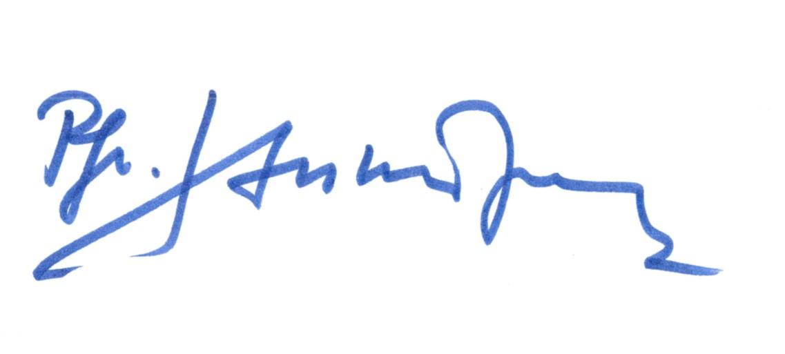 Unterschrift hule