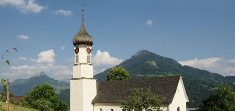 Thüringerberg - Hl. Apostel Andreas (copyright: Friedrich Böhringer / Wikicommons)