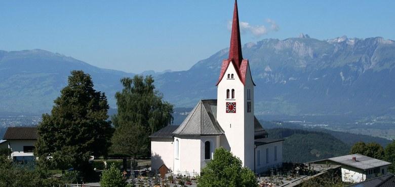 Übersaxen - Hl. Apostel Bartholomäus (copyright: Kath. Kirche Vorarlberg / Fehle)