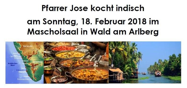 Keralavortrag und indisches Essen